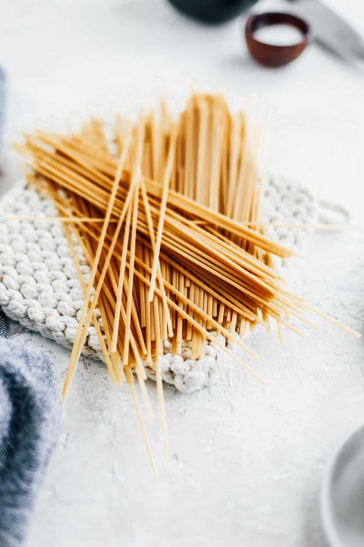 Skinny Fettuccine dry pasta