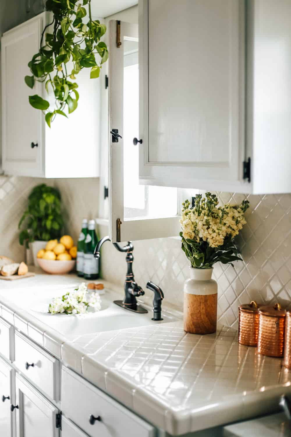 My Rental Kitchen Makeover Before After Tips And Ideas College Housewife