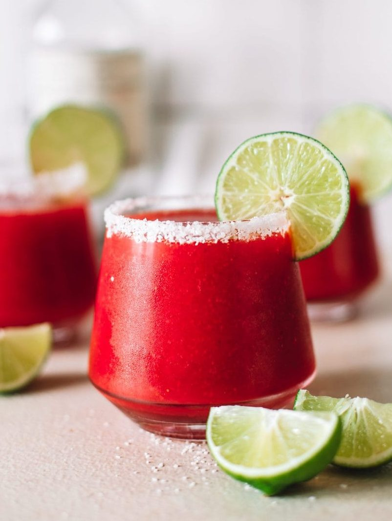 Frozen Strawberry Margarita Recipe College Housewife